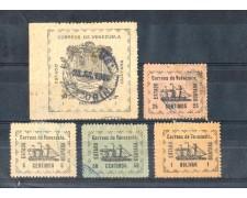 1903 - LOTTO/9895 - VENEZUELA - FRANCOBOLLI DEL GUYANA