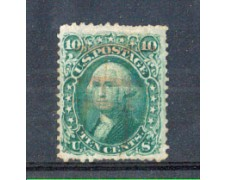 1861 - LOTTO/2932 - STATI UNITI - 10c. G.WASHINGTON