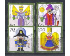 1990 - LOTTO/613  - GERMANIA FEDERALE -  NATALE USATI