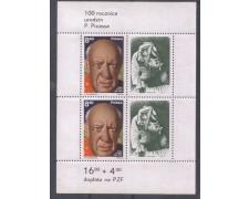 1981 - LBF/2686  - POLONIA - PICASSO FOGLIETTO NUOVO