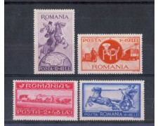1944 - LBF/2705 - ROMANIA - A PROFITTO DELLE POSTE