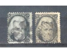 1863 - LBF/2932 STATI UNITI - 2c. JACKSON - USATI