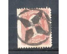 1861 - LBF/2929 - STATI UNITI - 3c. WASHINGTON - USATO