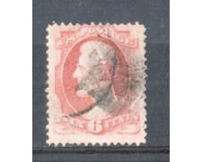 1870 - LBF/2940 - STATI UNITI - 6c. LINCOLN  USATO