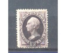1870/73 - LBF/2942 -  STATI UNITI - 12c. H. CLAY - USATO