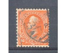 1890 - LBF/2948 - STATI UNITI - 90c. ARANCIO  PERRY - USATO