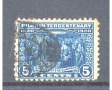 1920 - LBF/2971 - STATI UNITI - 2c. SBARCO PELLELEGRINI MAYFLOWERS - USATO