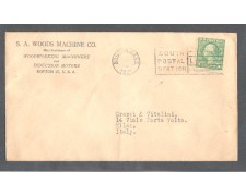 1921 - LBF/2972 - STATI UNITI - 1c. SU BUSTA DA BOSTON