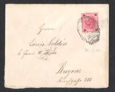 1903 - LBF/2026 -  AUSTRIA - 10h. SU BUSTA PER BREGENZ.