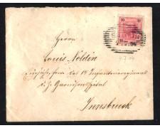 1904 - LBF/2027 - AUSTRIA - 10h SU BUSTA