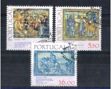 1979 - LOTTO/POR1449CPU - PORTOGALLO - NATALE  USATI