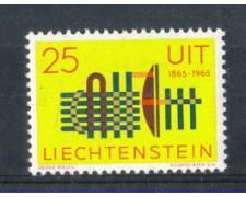 1965 - LOTTO/LIE404N - LIECHTENSTEIN - 25r. U.I.T  NUOVO