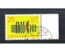 1965 - LOTTO/LIE404U - LIECHTENSTEIN - 25r. U.I.T  USATO