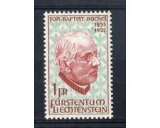 1967 - LOTTO/LIE431N - LIECHTENSTEIN - B.BUCHEL - NUOVO