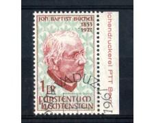 1967 - LOTTO/LIE431U - LIECHTENSTEIN - B.BUCHEL - USATO