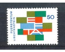 1967 - LOTTO/LIE432N - LIECHTENSTEIN - 50r. E.F.T.A.  NUOVO