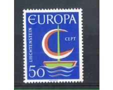 1966 - LOTTO/LIE417N - LIECHTENSTEIN - 50r. EUROPA - NUOVO
