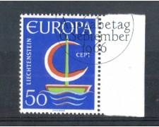 1966 - LOTTO/LIE417U - LIECHTENSTEIN - 50r. EUROPA - USATO