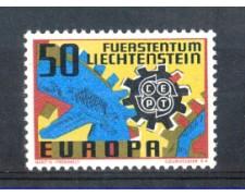 1967 - LOTTO/LIE425N - LIECHTENSTEIN - 50r. EUROPA - NUOVO