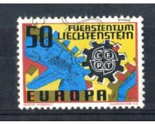 1967 - LOTTO/LIE425U - LIECHTENSTEIN - 50r. EUROPA - USATO