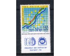 1992 - LOTTO/ISR1190BN - ISRAELE - UNIFICAZIONE EUROPEA - NUOVO