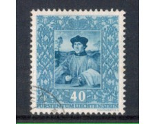 1949 - LOTTO/LIE235U - LIECHTENSTEIN - 40r. MASSYS - USATO