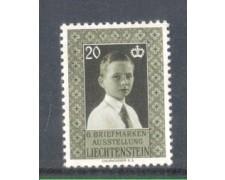 1956 - LOTTO/LIE308N - LIECHTENSTEIN - 20r. ESPOSIZIONE FILATELICA - NUOVO