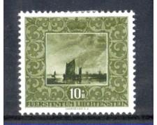 1951 - LOTTO/LIE263L - LIECHTENSTEIN - 10+10r. ALBERT CUYP