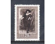 1951 - LOTTO/LIE264L - LIECHTENSTEIN - 20+10r. FRANZ HALS