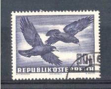 1950/53 - LOTTO/AUSA54U - AUSTRIA - 60g. CORVI POSTA AEREA - USATO