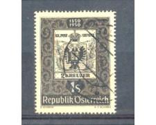 1950 - LOTTO/AUS786U - AUSTRIA - CENTENARIO FRANCOBOLLO USATO