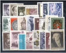1970 - LOTTO/AUSA70CPN - AUSTRIA -  ANNATA COMPLETA 1970
