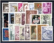 1971 - LOTTO/AUSA71CPN - AUSTRIA - ANNATA COMPLETA 1971
