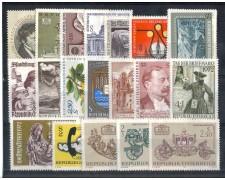 1972 - LOTTO/AUSA72CPN - AUSTRIA - ANNATA COMPLETA - NUOVI