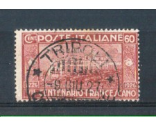 1926 - TRIPOLITANIA - LOTTO/10102U - 60 cent. SAN FRANCESCO - USATO