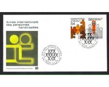 1981 - LBF/3599 - ONU AUSTRIA - ANNO INTERNAZIONALE DEI DISABILI
