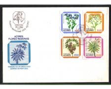 1982 - LBF/3591 - AZZORRE - FIORI LOCALI - BUSTA FDC