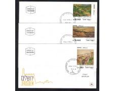 1981 - LBF/4073 - ISRAELE - PAESAGGI ISRAELIANI - BUSTE FDC