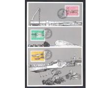 1980 - LBF/4121 - LIECHTENSTEIN - ANTICHE ARMI DA CACCIA - CART.MAXIMUM