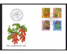 1976 - LBF/4147 - SVIZZERA - PRO JUVENTUTE - BUSTA FDC