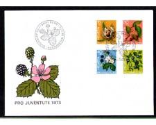 1973 - LBF/4143 - SVIZZERA - PRO JUVENTUTE - BUSTA FDC