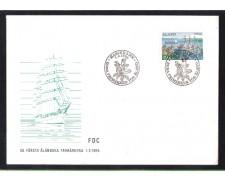 1984 - LBF/4090 - ISOLE ALAND  - COMPAGNIA NAVALE - BUSTA FDC