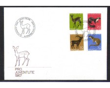 1967 - LBF/4140 - SVIZZERA - PRO JUVENTUTE - BUSTA FDC