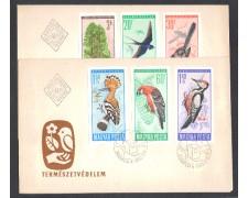 1966 - LBF/3371 - UNGHERIA - UCCELLI DIVERSI