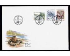 1994 - LBF/4098 - ISOLE ALAND - L'ETA' DELLA PIETRA -  BUSTA FDC