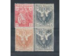 1915/16 - LOTTO/REG105CPL - REGNO - PRO CROCE ROSSA LING.