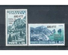 1954 - LOTTO/10383CPN - TRIESTE A -  6° FIERA DI TRIESTE NUOVI