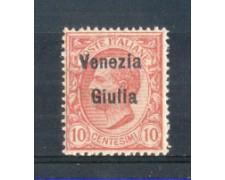 1918/19 - LOTTO/VNG22N - VENEZIA GIULIA - 10c. ROSA  NUOVO