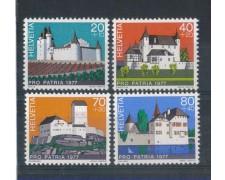 1977 - LOTTO/SVI1029CPN - SVIZZERA - PRO PATRIA  4v. NUOVI