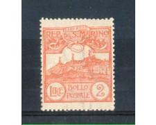 1921/23 - LOTTO/5646L - SAN MARINO - 2 LIRE ARANCIO LING.